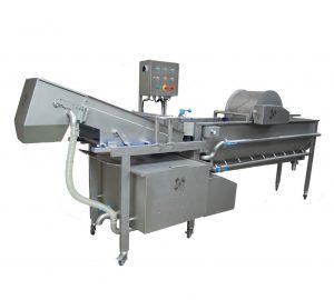 Groentewasmachine-