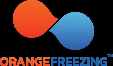 Orange Freezing